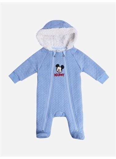 Mickey Mouse Mickey Mouse Lisanslı Kapitone Tulum 18329 Mavi